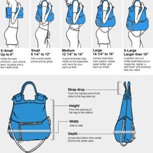 Handbags - Purse sizing
